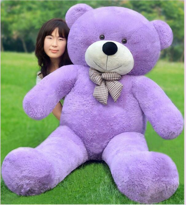 78'' Giant big viola Teddy Bear Plush Stuffed toys doll Xmas birthday gift