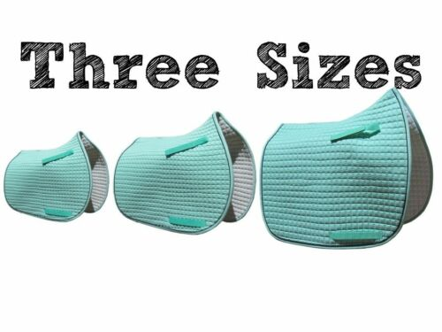DressageAll-PurposePony* Mint Green English Saddle Pad in 3 Sizes