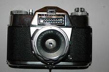 VOIGTLANDER - VOIGTLäNDER BESSAMATIC DE LUXE CON OBIETTIVO ORIGINALE DA 50mm.