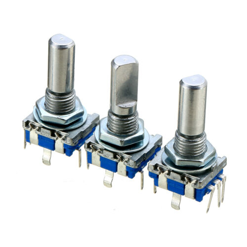 3Pcs Rotary Encoder Push Button Switch Keyswitch Electronic Components 6mm Set