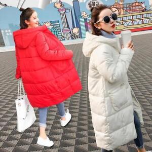 en long femmes d'hiver coton pour à coréen Sweat capuche nTwYSqx1