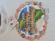 Majestic MLB White Grapefruit League Spring Training Map T-shirt   eBay