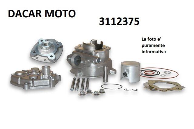 3112375 CYLINDER MALOSSI aluminium H2O GILERA GSM H@K 50 2T LC (DERBI EBE050)
