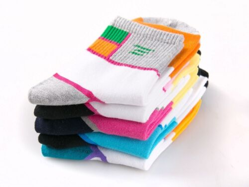5 Pairs Warm Cotton Autum Winter Womens Sport Socks #93279