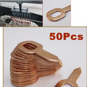 50pcs Dent Puller Rings for Spot Welding Car Body Panel Pulling Washer Tool