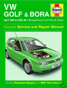 haynes manual volkswagen golf vw bora 1998 2000 3727 new ebay rh ebay co uk vw bora manual boot release vw bora manual pdf