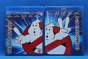 "2 Blu Ray "" SOS S.O.S. Fantômes / Ghostbusters 1 et 2 "" Masterisé en 4K + Bonus"
