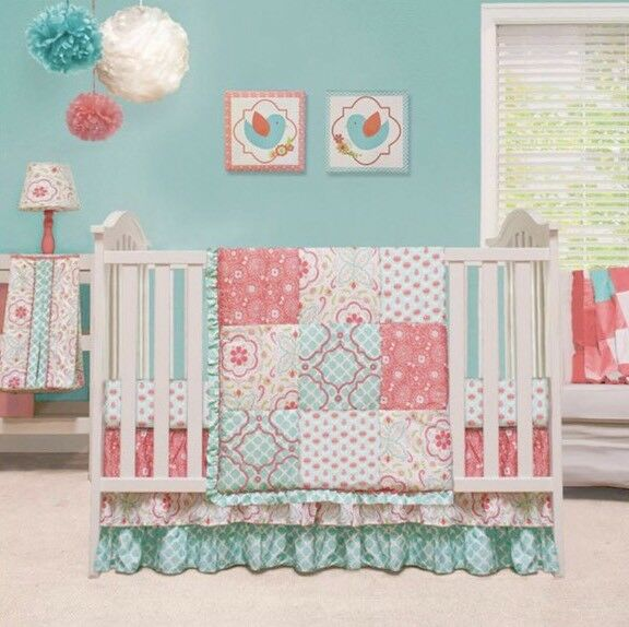 Migi Rainbow 5pc Crib Bedding Set