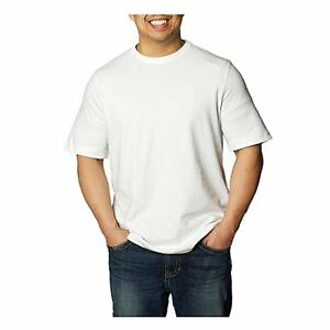 Hanes Long Sleeve T Shirt % Cotton Adult Beefy Tee Thicky Heavy S-3XL See more like this New Pack Mens % Cotton Crew Neck Tagless T-Shirt Undershirt White S-XL Brand New.