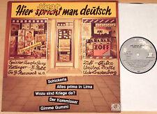 HIER SPRICHT (SINGT) MAN DEUTSCH  (JUPITER 1982 / Falco, Bel Ami, Zoff / LP m-)