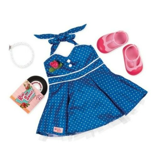 """Our Generation Retro Dance Party Clothing Set NIB For 18"""" Dolls"""