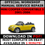 OFFICIAL-WORKSHOP-Repair-MANUAL-for-MINI-COOPER-CONVERTIBLE-S-2001-2006 thumbnail 1