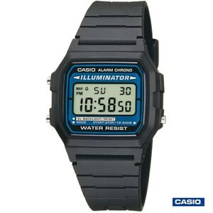 Details about Casio f 105w 1a Digital Clock retro sport Illuminator module 3298 show original title