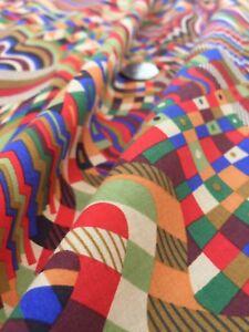 John-Lewis-cotton-100-039-Gustav-Klimt-A-039-per-metre-dress-fabric