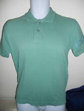 Dkny - Green Polo Shirt Shirt Cotton Blend Size Small