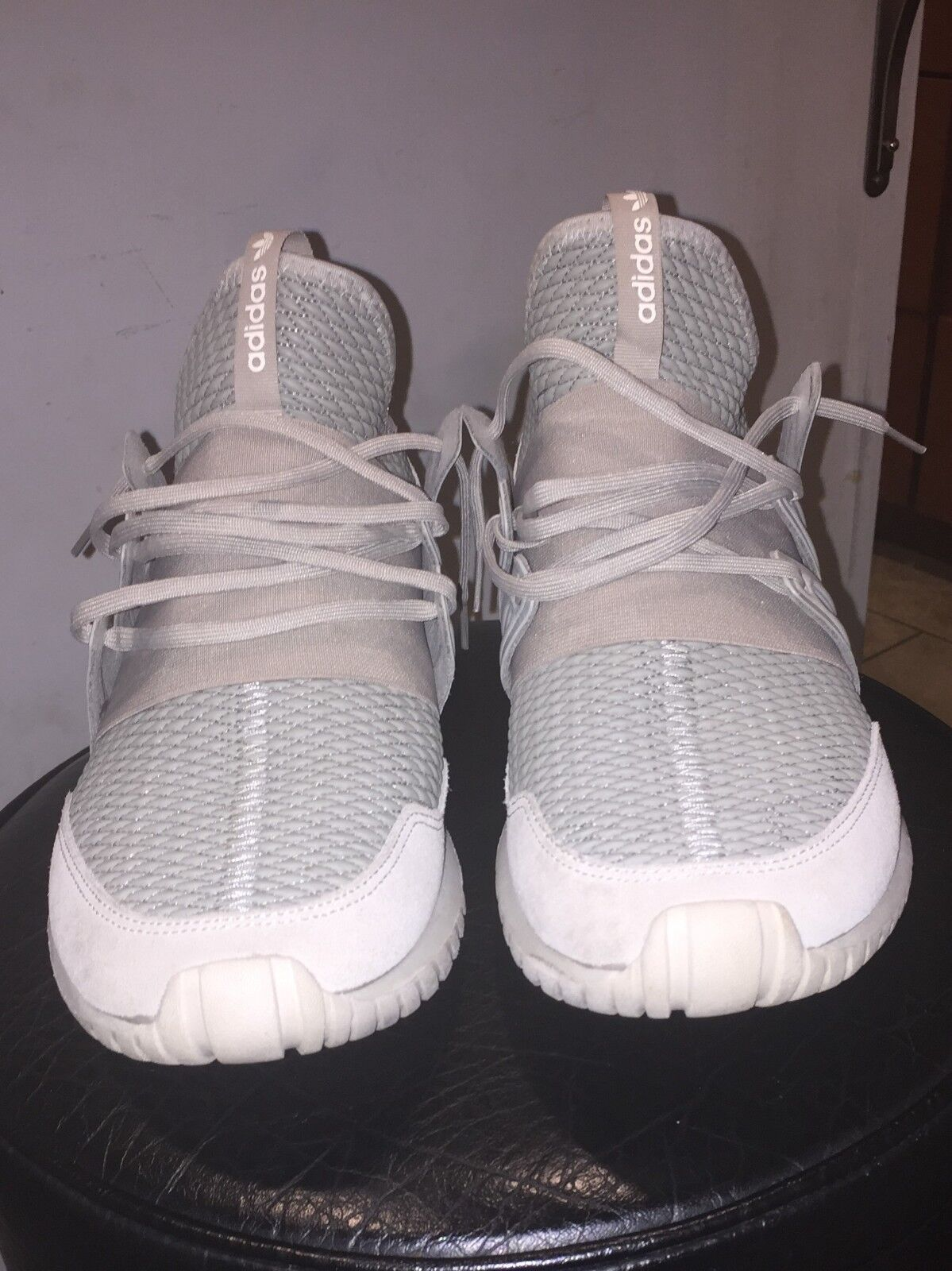 Adidas shoes - Size 12 - Tan colord - Box Included - BARELY WORN