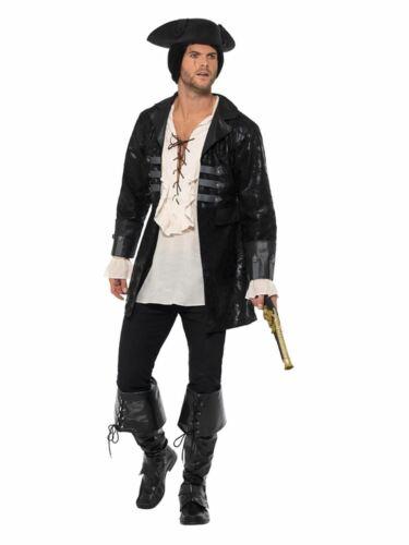 Buccaneer Pirate Jacket Men/'s Fancy Dress