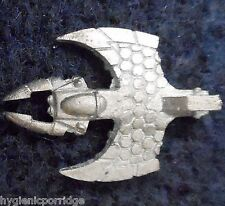 1997 Epic Eldar Nightwing Interceptor V1 Games Workshop Warhammer 6mm 40K Flyer