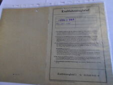 Brief Oldtimer 1967 Traktor John  Deere Lanz 310 32 PS  Datenblatt  LE