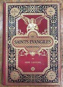 Les-saints-evangiles-Henri-Lasserre-Cartonnage-illustre-1888-gravures