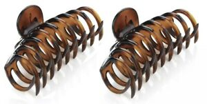 Large Tort Brown or Black 11cm Hair Clamps Hair Claw Clamp UK SELLER
