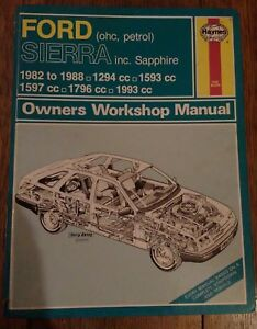 Ford-Sierra-Haynes-Manual-inc-Sierra-Sapphire-1982-to-1988