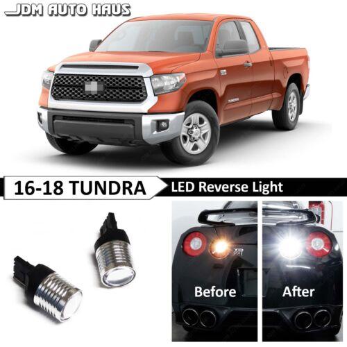 White High Power Reverse Backup 7440 LED Light Bulb Fits Toyota Tundra 2014-2018
