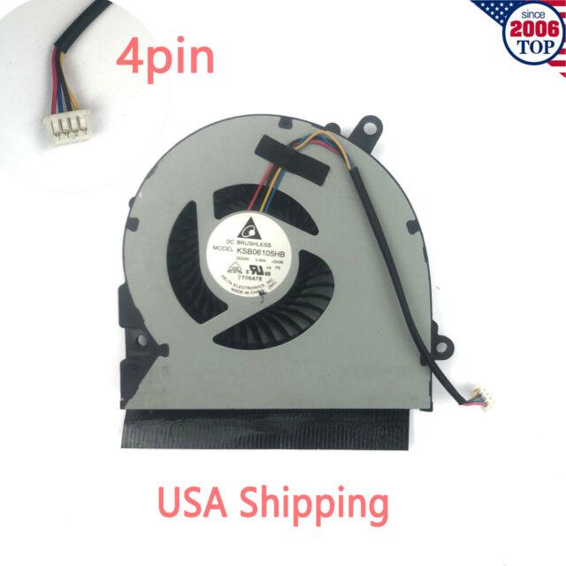 For Asus X401 X401A X401A-BC X401A-BH X401A-HC X401E X401EI CPU Cooling Fan