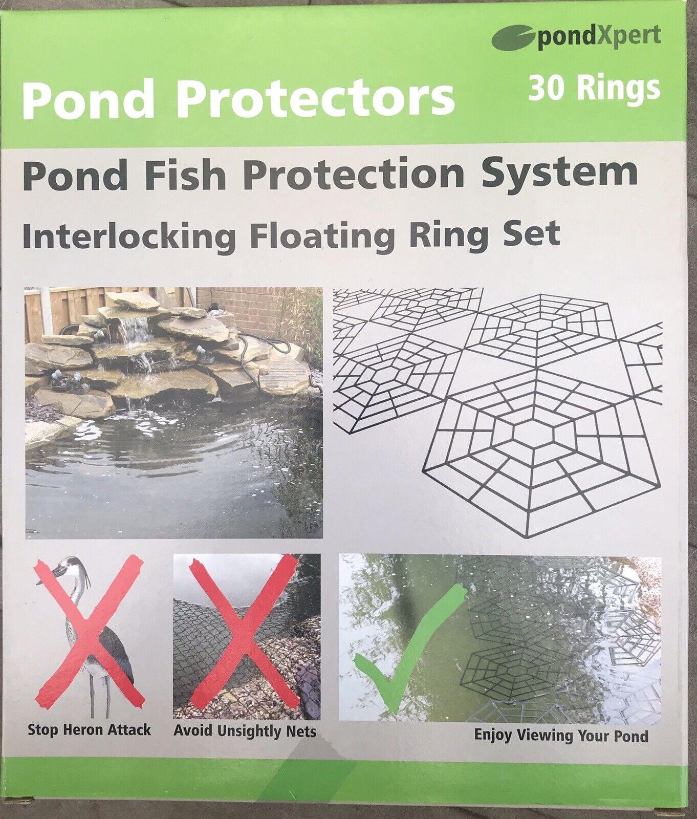 PondXpert Pond Protector Rings Protect Fish Stop Herons - Cats Fish Protectors