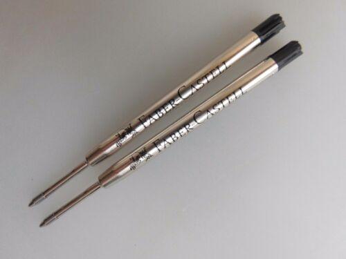 Faber-Castell 2 Stück Kugelschreiberminen 1487 Mittel 2 Farben Großraumminen