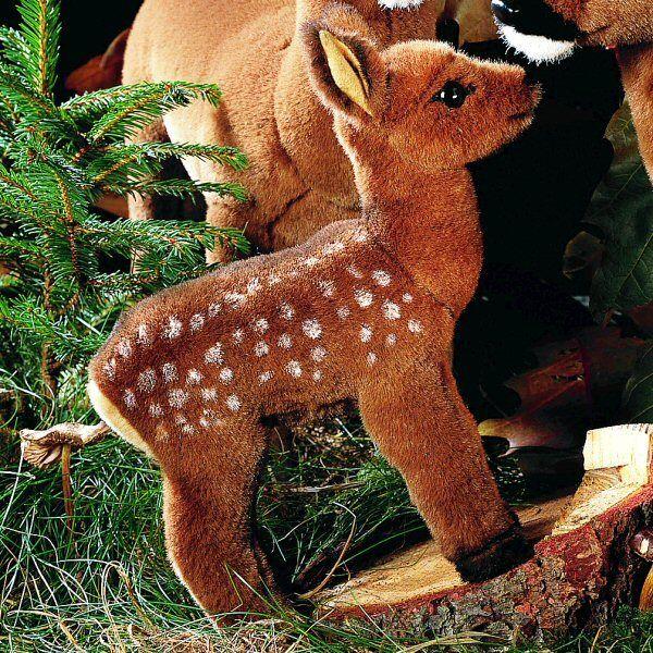 Fawn / deer - exquisite collectors soft toy by Kosen / Kösen - 21cm - 3530