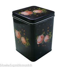 Dose ✿ CLASSIC ROSE ✿ Teedose 1.200ml Teacaddy ✿ Blechdose ✿ Boîte à thé vide