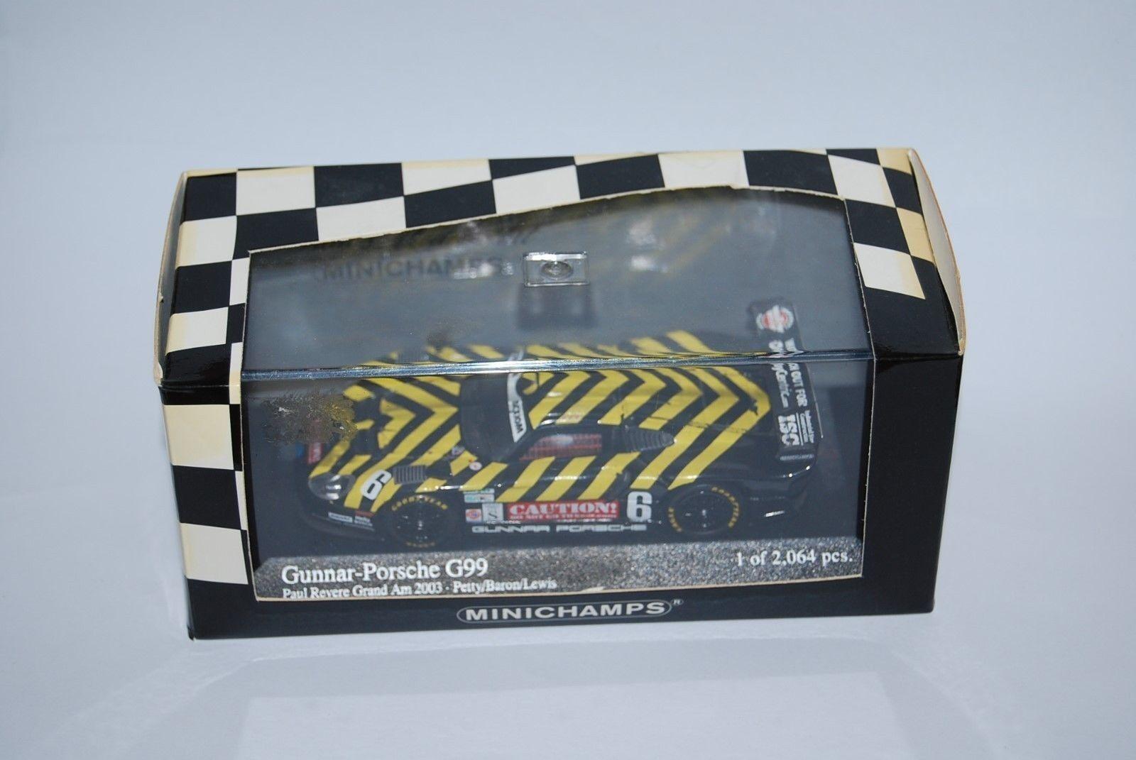 MINICHAMPS PORSCHE 911 G99 DE 2003 4009966886 NEUF BOITE NEW BOX 1 43 TRES RARE