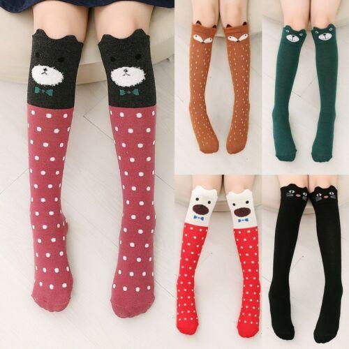 Girl/'s Cute 3D Cartoon Animals Thigh Stockings Over Knee High Long Socks Fancy