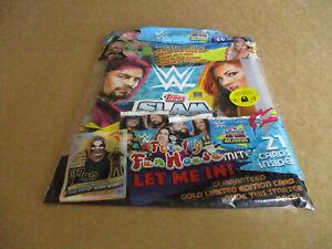 TOPPS WWE SLAM ATTAX RELOADED TRADING CARD STARTER PACK WWE WRESTLING CARDS