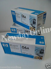 LOT-3 HP 06A Black Toner Cartridge 2.6K-Pages Laserjet 5L 3150xi 3100 C3906A NEW