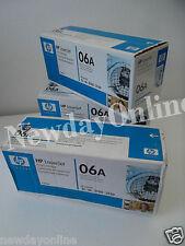 LOT-3 HP 06A Black Toner Cartridge 2.6K-Pages Laserjet 5L 3150xi 3100 C3906A NEW