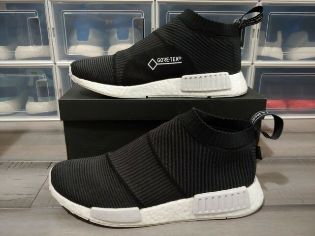 Adidas NMD CS1 Gore Tex GTX Boost BY9405 Black White Men 9.5