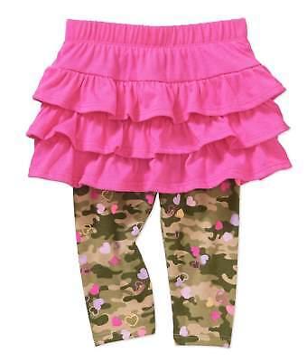 INFANT GARANIMALS JUMP SUIT /& LEGGINGS /& PINK RUFFLED SKIRT W//GOLD HEARTS NWT