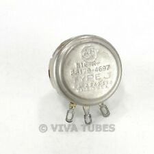 Vintage Allen Bradley N16 R 88179 4697 Type J Potentiometer 500k Ohm