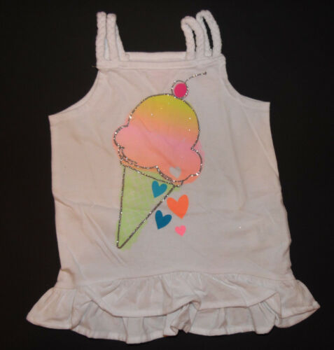 Toughskins Infant Toddler Girl Sleeveless Tank Tops Various Sizes and Colors NWT