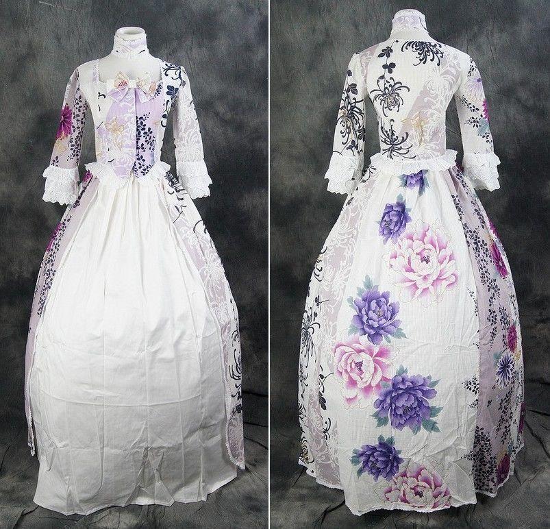 V-11 S M L XL Blaumen Flower Civil Civil Civil War Victorian Lolita Kostüm dress costume   Diversified In Packaging  8e87c7