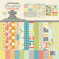 Lily Bee Designs pinwheel 12x12 Paper Kit & Acessories Scrapjack's Place