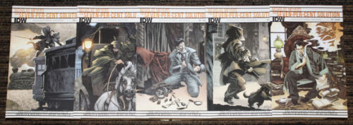 IDW Sherlock Holmes The Seven Percent Solution #1-5 COMPLETE SET All 1sts Reg