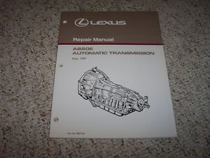 1997 lexus sc400 gs300 gs400 a650e transmission service repair rh ebay com Toyota Transmission Rebuild Diagram Automatic Transmission Exploded View