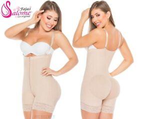 Faja Colombiana Reductora Strapless Levanta Cola Post Surgery Body Suit Girdle