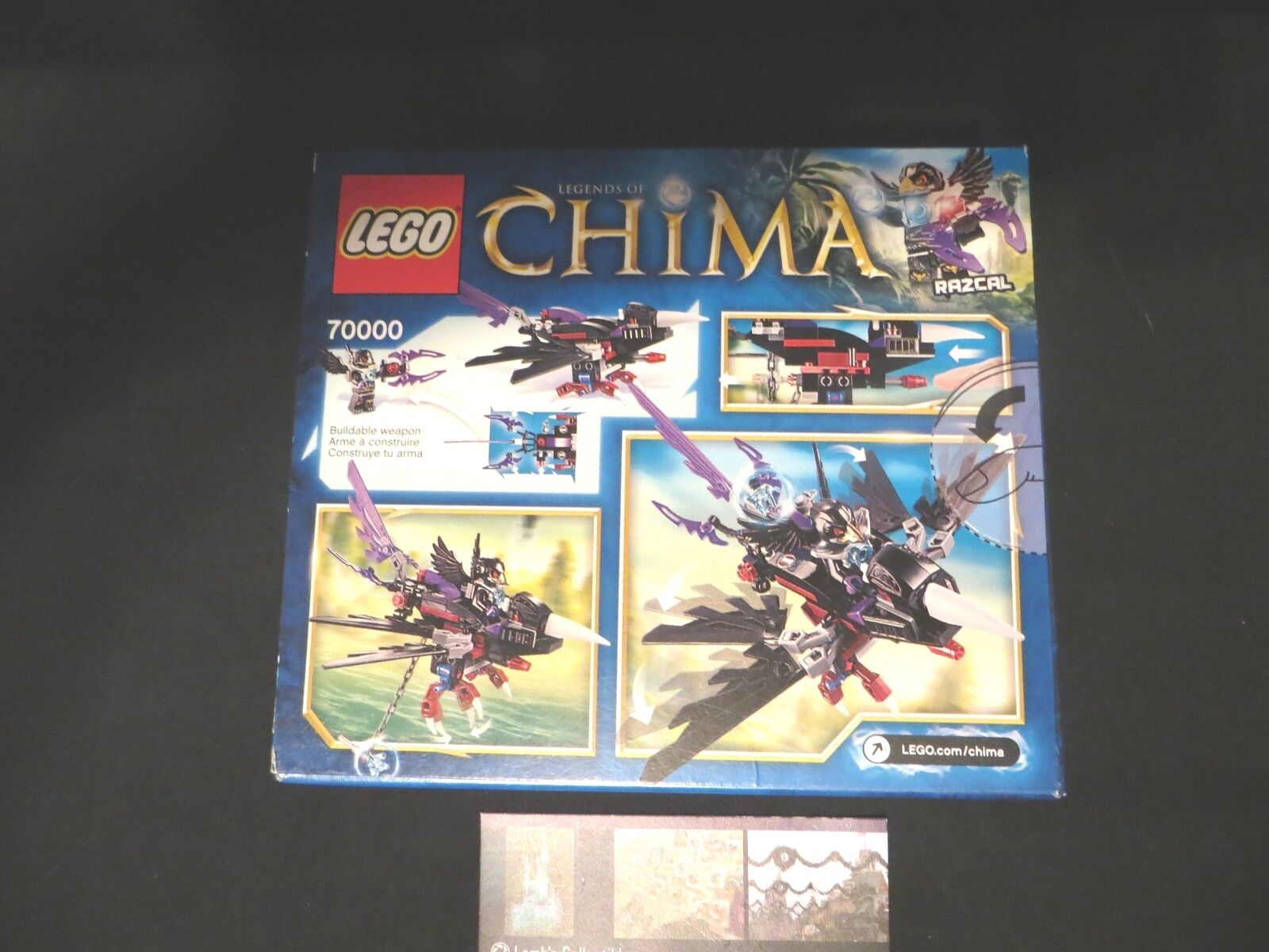 from 2013 LEGO Legends of Chima 70000 Razcal/'s Glider