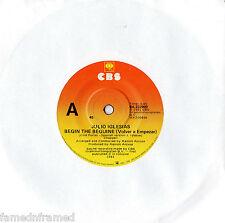 """JULIO IGLESIAS - BEGIN THE BEGUINE (VOLVER A EMPEZAR) - RARE 7"""" 45 RECORD 1981"""