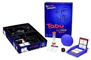Hasbro Spiele A4626100 Tabu Gesellschaftsspiel Familienspiel PartySpiel 13+