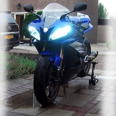 80W For Kawasaki Ninja ZX-6 1990-2002 ZX600E ZX600D LED Headlight Bulbs White